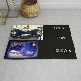 1956 Lotus Eleven  Rug