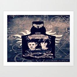 Supernatural In A Bottle Art Print