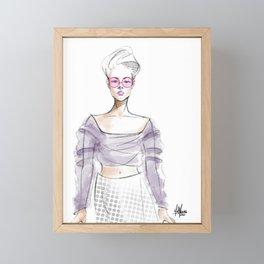 Sheer Imagination Framed Mini Art Print