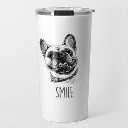 Smile with Dog Travel Mug