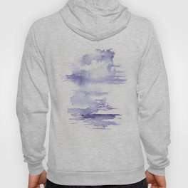 150528 Watercolour Shadows Abstract 124 Hoody