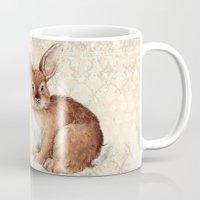 rabbit Mugs featuring Rabbit by Patrizia Ambrosini