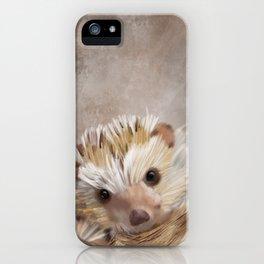Hedgie iPhone Case