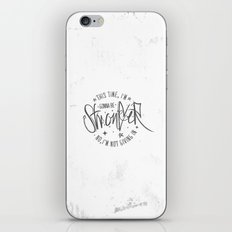 This Time... iPhone & iPod Skin