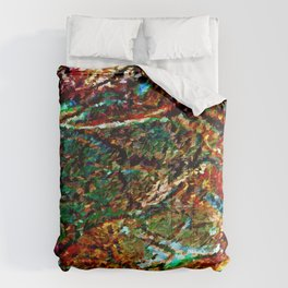 Emerald Impressions Abstract Comforters