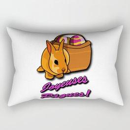 Joyeuses Pâques Rectangular Pillow