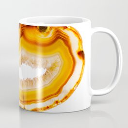 Amber agate slice Coffee Mug