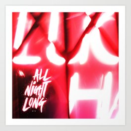 All Night Long NYC Art Print