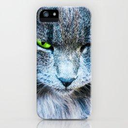 Green eye iPhone Case