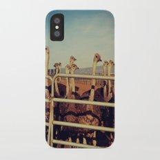 Ostrich Farm iPhone X Slim Case