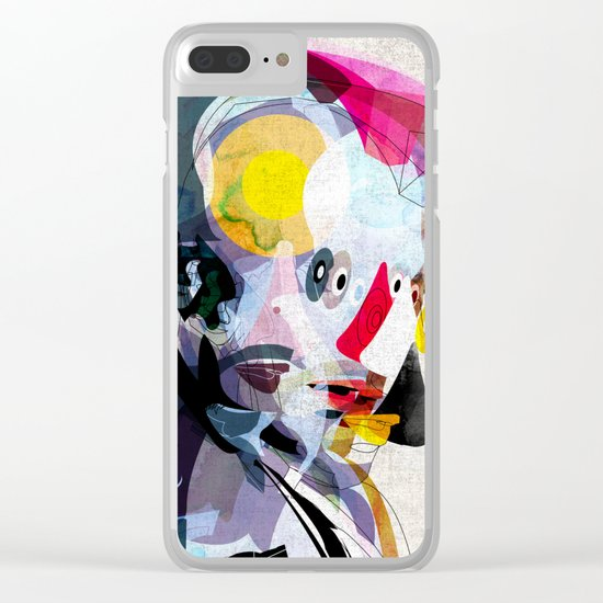 Travis02 Clear iPhone Case