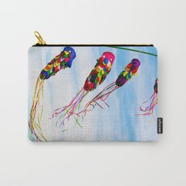 Bali - Flying Colorful Kites Carry-All Pouch