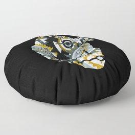 Steampunk Heart Floor Pillow