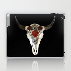 Bull Skull and Roses Laptop & iPad Skin