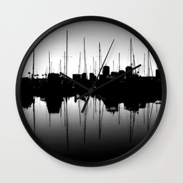 Marina Pulse Wall Clock
