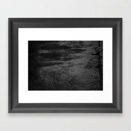 raindrops Framed Art Print