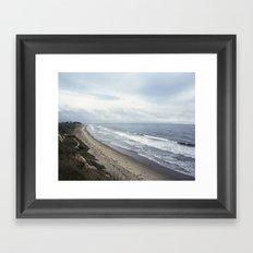 Central California  Framed Art Print