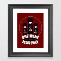 Missionaria Protectiva Framed Art Print