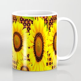 SPICE BROWN SUNFLOWERS ART Coffee Mug