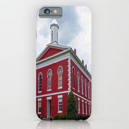Iron County Courthouse in Ironton, Missouri iPhone Case