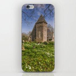 St James Bicknor iPhone Skin