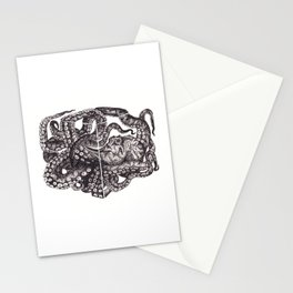 Octopus Invisble Box Stationery Cards