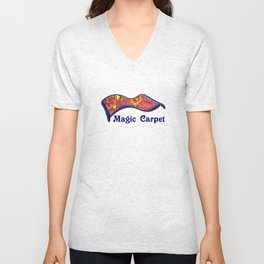 Magic Carpet Unisex V-Neck
