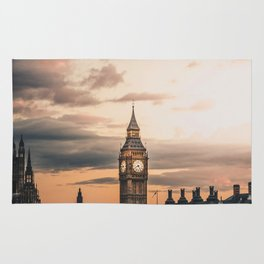 London England Cityscape (Color) Rug