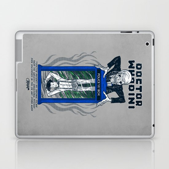Doctor Whodini Laptop & iPad Skin
