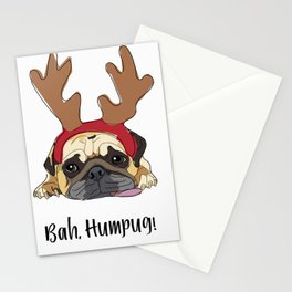 Bah Humpug Stationery Cards