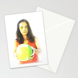 """""""Eve and Earth"""" Stationery Cards"""