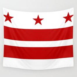Flag of Washington D.C. Wall Tapestry