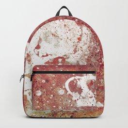Blood Queendom (spray paint graffiti art, crown with skulls) Backpack