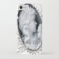 agate iPhone & iPod Cases featuring agate,agate cameo,gemstone by ira gora