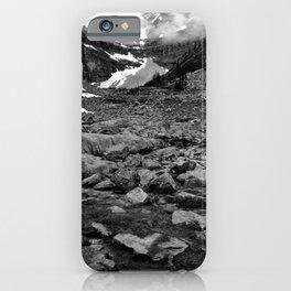 Nameless Rocks Beneath Space iPhone Case