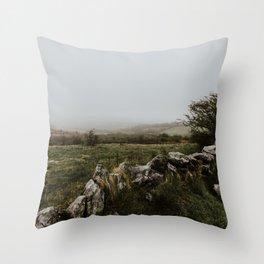 The Burren - County Clare, Ireland Throw Pillow