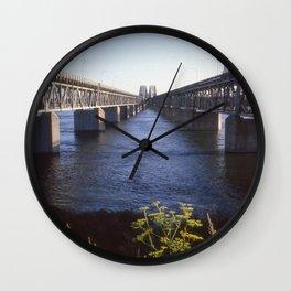 Raid Canada: Honoré-Mercier Bridge Wall Clock