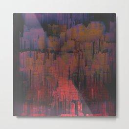 Urban Poetry in the Floating Town / 27-11-16 Metal Print