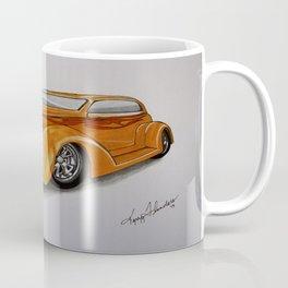 Orange Hot Rod Coffee Mug