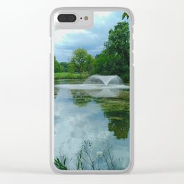 Beauty in the Park - Clissold Park Stoke Newington London Clear iPhone Case