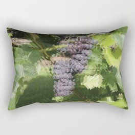 Seeing Double? Maybe its too much fruit of the vine! Rectangular Pillow
