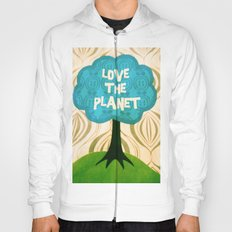 Love the planet Hoody