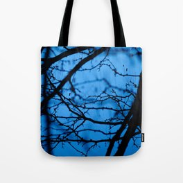 Tangled in Blue Tote Bag