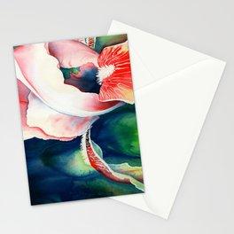 Tropical Iris Flower Stationery Cards