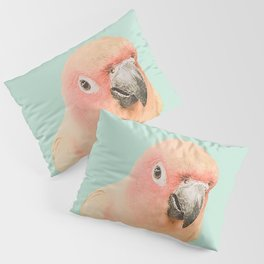 Birds of Paradise - pastel blue Pillow Sham