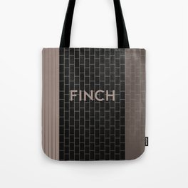 FINCH | Subway Station Tote Bag