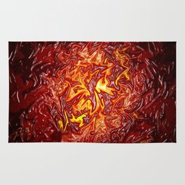 The Fire within..... Rug