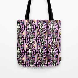 Funky Rainbow Tote Bag