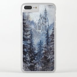 Snow Starlight Clear iPhone Case