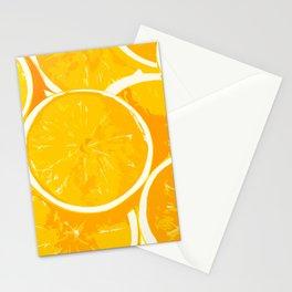 Orangy Oranges Stationery Cards